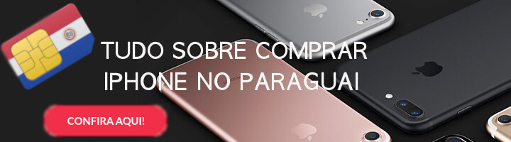 comprar iphone no Paraguai