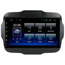 Central Multimídia Aikon 8.8 DSP Android 8.1 Jeep Renegade ASF-23047W foto principal
