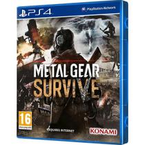 Game Metal Gear Survive Playstation 4 foto principal