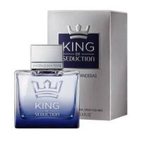 Perfume Antonio Banderas King Of Seduction Eau de Toilette Masculino 50ML foto 1