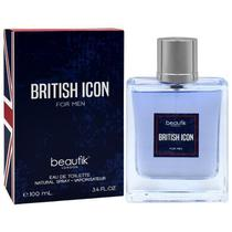 Perfume Beautik British Icon For Men Eau de Toilette Masculino 100ML foto 2