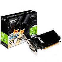Placa de Vídeo MSI GeForce GT710 1GB DDR3 PCI-Express foto principal