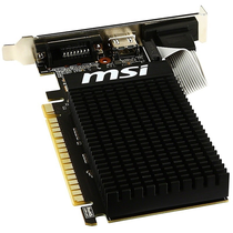Placa de Vídeo MSI GeForce GT710 1GB DDR3 PCI-Express foto 2