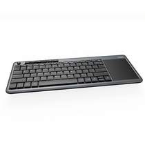 Teclado Rapoo K2600 Wireless Com Touchpad foto 1