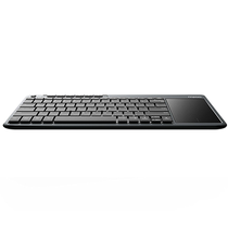 Teclado Rapoo K2600 Wireless Com Touchpad foto 2