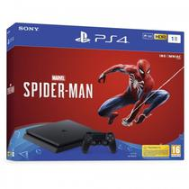 Console Sony Playstation 4 - 1TB - com Spider Man