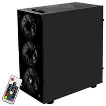 Gabinete Satellite K-369 Gamer- Preto
