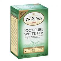 Cha Twinings Pure White CX c/20 Saquinhos