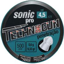 Chumbo Technogun Sonic Pro Penetracao 4.5MM - 500 Unidades