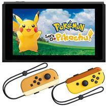 Console Portatil Nintendo Switch Wi-Fi/Bluetooth/HDMI Bivolt + Jogo Pokemon - Preto