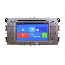 Central Multimidia Booster 4.4 Ford Focus Wifi Old 2011/2013