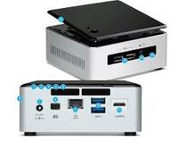 Mini PC Intel Nuc NUC5I3RYHSN i3-5005U-2.0GHZ/ 4GB/ DDR3L/ 1TB/ 4K/ USB3.0/ HDMI/ Lan/ Mini-DP
