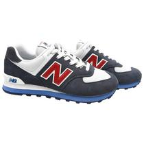 Tenis New Balance ML574ESC Masculino No 9.5 - Cinza/Branco
