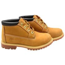 Bota Timberland 23399 Feminina No 8 - Wheat Yellow