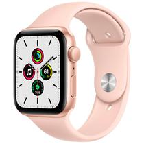 Apple Watch Se 44MM MYDR2LL/A / GPS - Gold Aluminum Pink Sport Band
