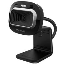 Camera Webcam Microsoft Lifecam T4H-00002 1MP HD 720 Preto