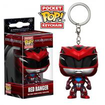 Chaveiro Funko Pop Keychain Power Rangers Red