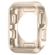 Capinha para Apple Watch Series 1/2/3 de 42 MM Spigen Slim Armor SGP11506 - Dourado