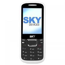 "Celular SKY Devices F3G Dualsim 2,4"" 1000MAH VGA - Branco"