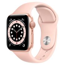 Apple Watch S6 40MM MG123LL/A / GPS / Oximetro - Gold Aluminum Pink Sport Band