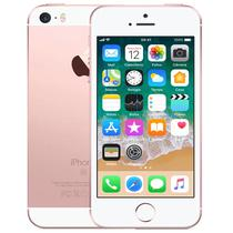 Apple iPhone Se A1723 com Tela 4 HD, 32GB, Id Touch, Ios 9, Sensor Touch Id, Camera Isight 12MP, Wi-Fi, 4G, GPS, Bluetooth e NFC - Sem Caixa - Rosa Ouro