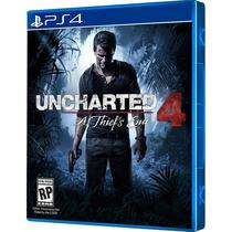 Jogo Uncharted 4 A Thiefs End PS4