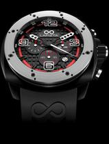 Lapizta Oryx 48MM Black Case/Black Bezel/