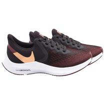 Tenis Nike Air Zoom Winflo 6 Feminino No 7.5 - Burgundy Ash/Metallic Copper