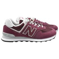 Tenis New Balance ML574EGB Masculino No 10.5 - Bordo