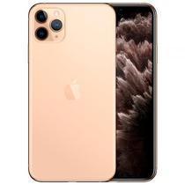 "Apple iPhone 11 Pro Max A2161 64GB Super Retina Oled 6.5"" Tripla 12MP/12MP Ios - Dourado"
