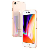 "Apple iPhone 8 A1905 BZ 64GB Tela Retina 4.7"" 12MP/7MP Ios 11 - Dourado"