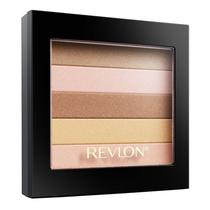 Blush Revlon Highlighting Palette 010 Peach Glow